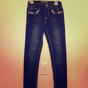 Wallflower Girl jeans with sequins. Size 12.